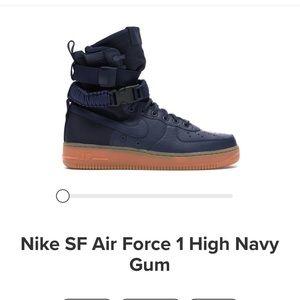 Nike SF Air Force 1 High, Sz 10.5 w/ box